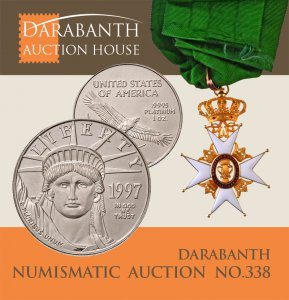 Online Numismatic Auction 338