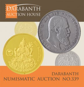 Online Numismatic Auction 339